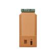 Wellpappe Universal-Versandverpackung CD braun / IM: 147 x 129 x -55mm AM: 198 x 135 x -63mm Produktbild