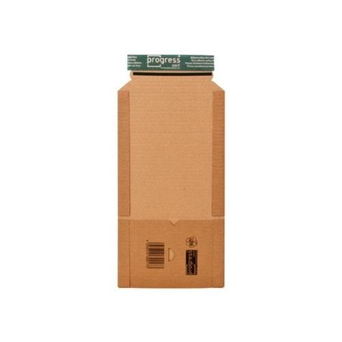 Wellpappe Universal-Versandverpackung CD IM: 147x129x-55mm / AM: 198x135x-63mm braun Produktbild