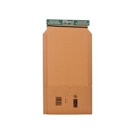 Wellpappe Universal-Versandverpackung A5 braun / IM: 217 x 155 x -60mm AM: 268 x 160 x -72mm Produktbild