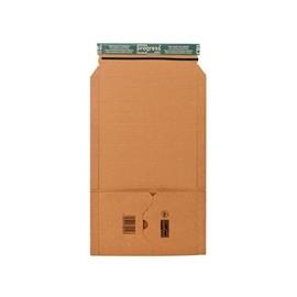Wellpappe Universal-Versandverpackung braun / A5+ / IM: 249x165x-60mm AM: 300x175x-75mm Produktbild