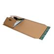 Wellpappe Universal-Versandverpackung C4 braun / IM: 328 x 255 x -80mm AM: 380 x 260 x -92mm Produktbild Additional View 1 S