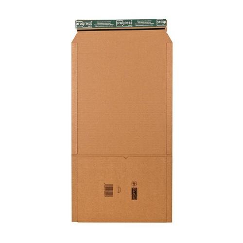 Wellpappe Universal-Versandverpackung C4 braun / IM: 328 x 255 x -80mm AM: 380 x 260 x -92mm Produktbild