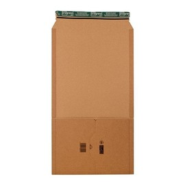 Wellpappe Universal-Versandverpackung B4 braun / IM: 378 x 295 x -80mm AM: 430 x 300 x -92mm Produktbild