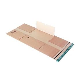 Wellpappe Universal-Versandverpackung braun / IM: 350 x 320 x -80mm AM: 398 x 333 x -95mm Produktbild