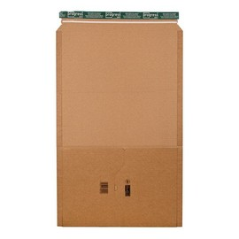 Wellpappe Universal-Versandverpackung A3 braun / IM: 455 x 325 x -80mm AM: 510 x 330 x -92mm Produktbild