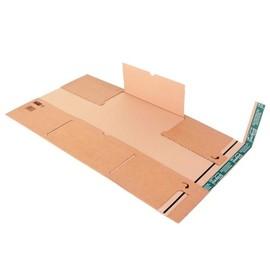 Wellpappe Universal-Versandverpackung LP braun / IM: 320 x 320 x -55mm AM: 375 x 330 x -70mm Produktbild