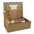 Wellpappe Postversandkarton braun DIN A5+ / IM: 230 x 166 x 90mm AM: 280 x 183 x 100mm Produktbild Additional View 1 S