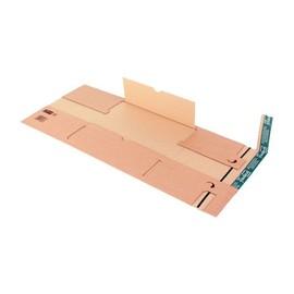 Wellpappe Universal-Versandverpackung B4 braun / IM: 360 x 265 x -95mm AM: 415 x 275 x -110mm Produktbild
