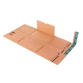 Wellpappe Universal-Versandverpackung C3 braun / IM: 463 x 330 x -85mm AM: 515 x 340 x -100mm Produktbild