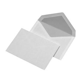 Briefumschlag ohne Fenster C6 114x162mm nassklebend 72g weiß (PACK=25 STÜCK) Produktbild