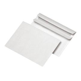 Briefumschlag ohne Fenster C6 114x162mm selbstklebend 72g weiß (PACK=100 STÜCK) Produktbild