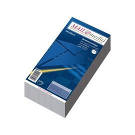 Briefumschlag ohne Fenster DIN lang 110x220mm selbstklebend 72g weiß (PACK=100 STÜCK) Produktbild