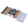 Wellpappe CD/DVD Mailer DL weiß Jewel Case / 225 x 125 x 12mm ohne Fenster Produktbild