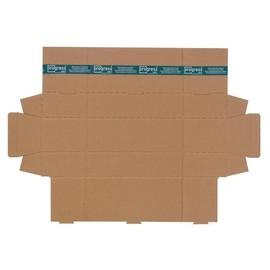 Wellpappe Trapez Versandverpackung braun A1 / IM: 610 x 145/108 x 75mm AM: 620 x 158/115 x 82mm Produktbild