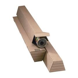 Wellpappe Trapez Versandverpackung braun A0+ / IM: 1005 x 105/55 x 75mm AM: 1010 x 115/60 x 80mm Produktbild
