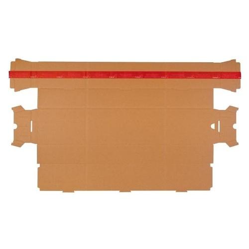 Wellpappe Trapez Versandverpackung braun A1+ / IM: 708 x 145/108 x 75mm AM: 718 x 158/115 x 82mm Produktbild