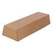 Wellpappe Trapez Versandverpackung braun A0 / IM: 860 x 145/108 x 75mm AM: 870 x 158/115 x 82mm Produktbild Additional View 1 S