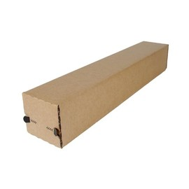 Wellpappe longBOX Universalhülse braun A1 / IM: 610 x 105 x 105mm AM: 630 x 110 x 110mm Produktbild