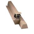 Wellpappe Trapez Versandverpackung braun A2 / IM: 435 x 105/55 x 75mm AM: 455 x 115/60 x 80mm Produktbild