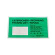 Papier Begleitpapiertasche DL grün 240 x 130mm / Lieferschein-Rechnung (PACK=1000 STÜCK) Produktbild