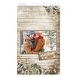 Faltenbeutel Winterfreude Pur 20x7x32cm 40g weiß Trendstar (PACK=1000 STÜCK) Produktbild