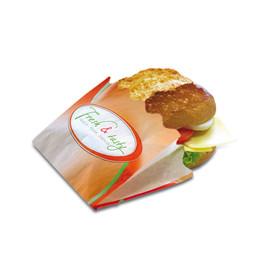 Snacktasche mit Wellenrand Fresh & Tasty 120x50x90mm (PACK=2000 STÜCK) Produktbild
