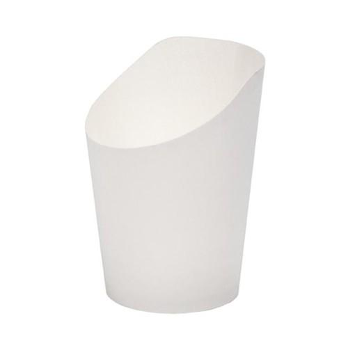 Wrap Becher 55x100mm weiß (PACK=75 STÜCK) Produktbild Front View L