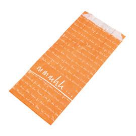 Faltenbeutel mmmhh 12x5x24cm FV1 35g orange (PACK=1000 STÜCK) Produktbild