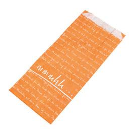 Faltenbeutel mmmhh 14x6x28cm FV3 35g orange (PACK=1000 STÜCK) Produktbild