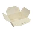 Mealbox Nr. 8 mit Deckel Greet Leo 850ml 162x132x64mm weiß (KTN=180 STÜCK) Produktbild Additional View 1 S