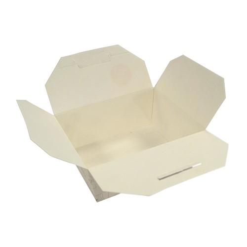 Mealbox Nr. 8 mit Deckel Greet Leo 850ml 162x132x64mm weiß (KTN=180 STÜCK) Produktbild Additional View 1 L