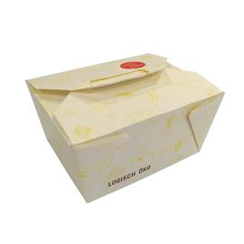 Mealbox Nr. 1 mit Deckel Greet Leo 650ml 130x105x65mm weiß (KTN=270 STÜCK) Produktbild
