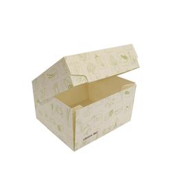 Burgerbox zum Falten XL Greet 148x135x85mm weiß (KTN=200 STÜCK) Produktbild