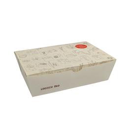 Snackbox mit angehängtem Deckel L Greet 180x120x55mm / weiß (KTN=225 STÜCK) Produktbild