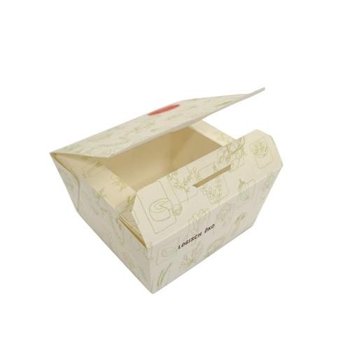 Mealbox mit angehängtem Deckel M Greet 110x110x65mm / weiß (KTN=360 STÜCK) Produktbild Additional View 1 L