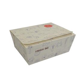 Mealbox mit angehängtem Deckel L Greet L 150x120x65mm weiß (KTN=270 STÜCK) Produktbild