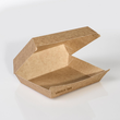 Mealbox 4 mit Clamshell Deckel XXL Greet 200x150x75mm / braun (KTN=250 STÜCK) Produktbild