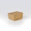 Mealbox mit Deckel Greet Leo 1 650ml / 130x105x65mm / braun (KTN=270 STÜCK) Produktbild Additional View 1 S