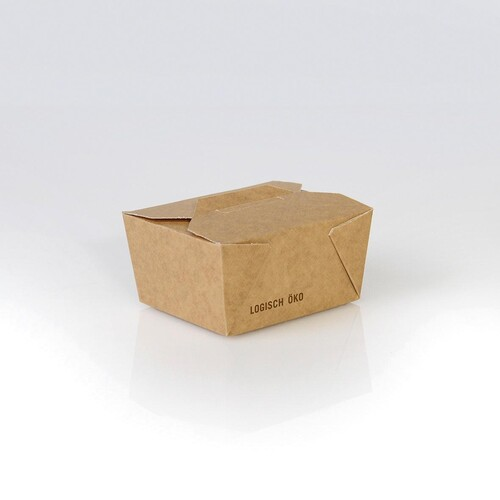 Mealbox mit Deckel Greet Leo 1 650ml / 130x105x65mm / braun (KTN=270 STÜCK) Produktbild Additional View 1 L