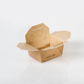 Mealbox mit Deckel Greet Leo 4 2215ml / 215x162x90mm / braun (KTN=100 STÜCK) Produktbild