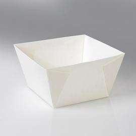 Snackbox ohne Deckel Umami 2370 ml 177x177x100mm / weiß Bodenmaß 130x130mm (KTN=200 STÜCK) Produktbild