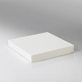 Deckel ohne PLA Fenster für Snackbox Umami 1370+2370ml / 178x178x25mm / weiß (KTN=200 STÜCK) Produktbild