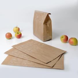 Obst- und Gemüsebeutel Greet L 22+9x40cm Zellulose braun kompostierbar ungefädelt (PACK=1000 STÜCK) Produktbild