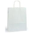 Papiertragetaschen Toptwist 24x11x31cm 100g Kraftpapier weiß Papierkordel (KTN=150 STÜCK) Produktbild