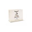 Exklusive Papiertragetaschen Merry Christmas 30x11x24cm / 190g / mit Kordel Produktbild