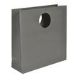 """Papiertragetaschen """"Avantgarde"""" 300+100x300mm 200g anthrazit matt mit ausgestanztem Griff (KTN=50 STÜCK) Produktbild"""