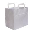 Tortentragetasche ohne Druck 26x17x24cm weiß (KTN=250 STÜCK) Produktbild