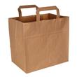 Tortentragetasche ohne Druck 26x17x24cm braun (KTN=250 STÜCK) Produktbild