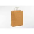 Papiertragetaschen Toptwist 24x11x31cm 100g Kraftpapier braun natur Papierkordel (KTN=150 STÜCK) Produktbild