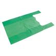 HDPE Hemdchentasche Jumbo geblockt 30x18x55cm 14my grün (PACK=100 STÜCK) Produktbild